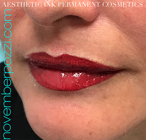 Permanent Cosmetics Full Color Lips